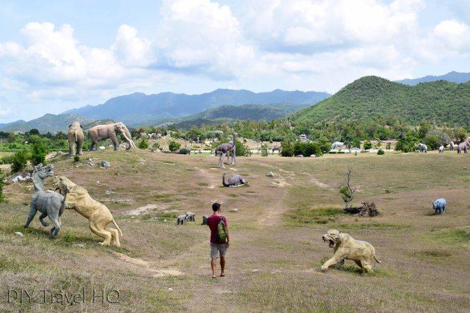 Valle de la Prehistoria dinosaur park