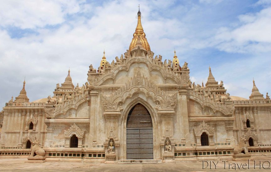 While temple in Bagan