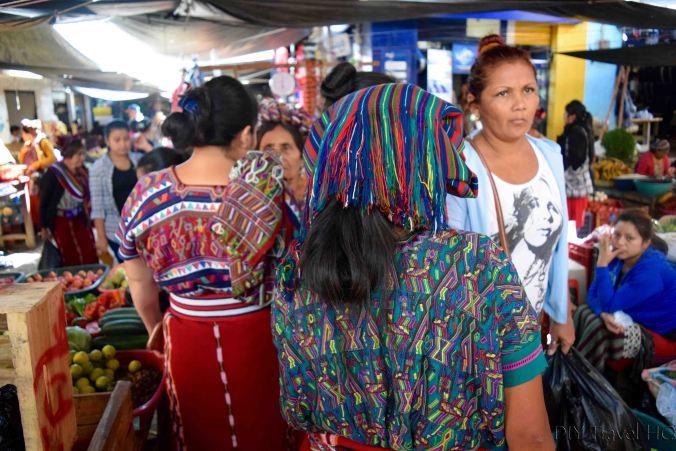Busy Nebaj Market