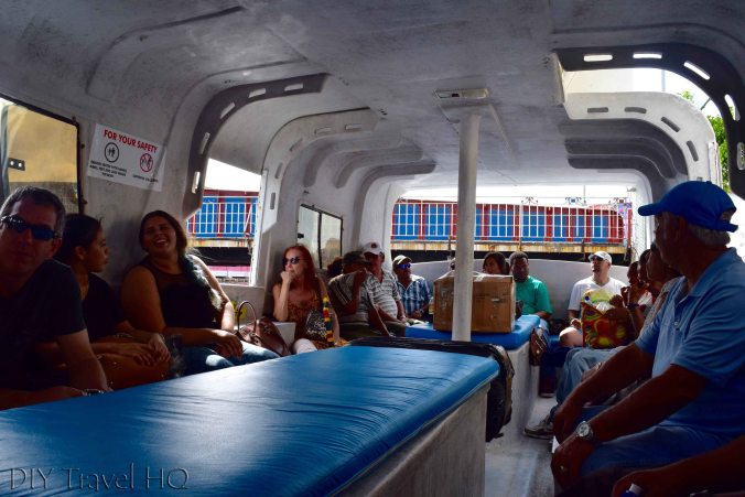 Ferry to Caye Caulker
