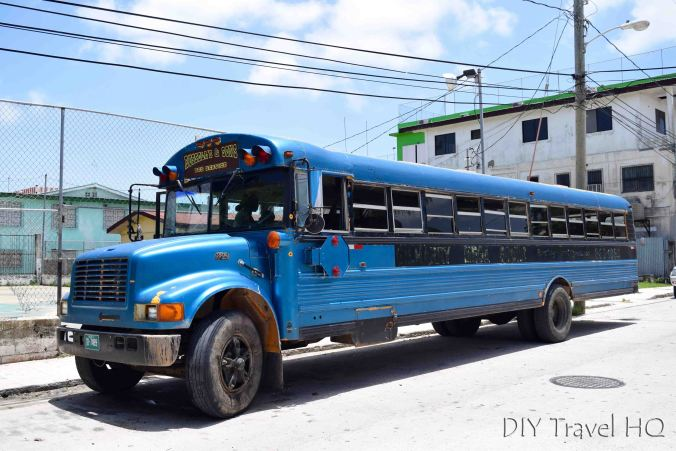 Russell's Bus to Bermudian Landing