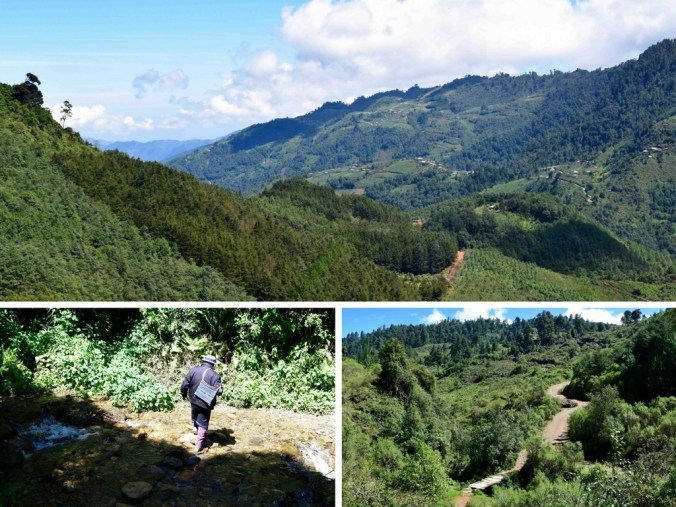 Hike to San Juan Atitan Valley to the Ridge