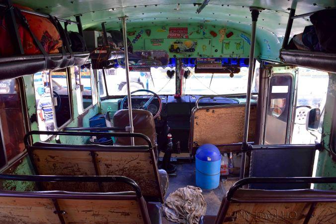 Huehuetenango to Todos Santos Cuchumatan Chicken Bus