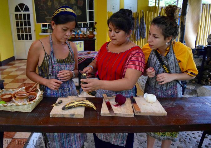 Cooking class in San Pedro