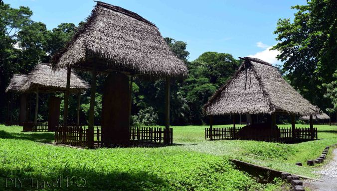 Quirigua Central Plaza Stelae and Zoomorphs