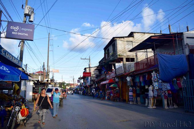 Rio Dulce Town Main Street