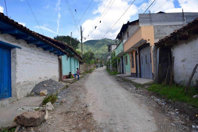 Road to start Nebaj to Acul hike
