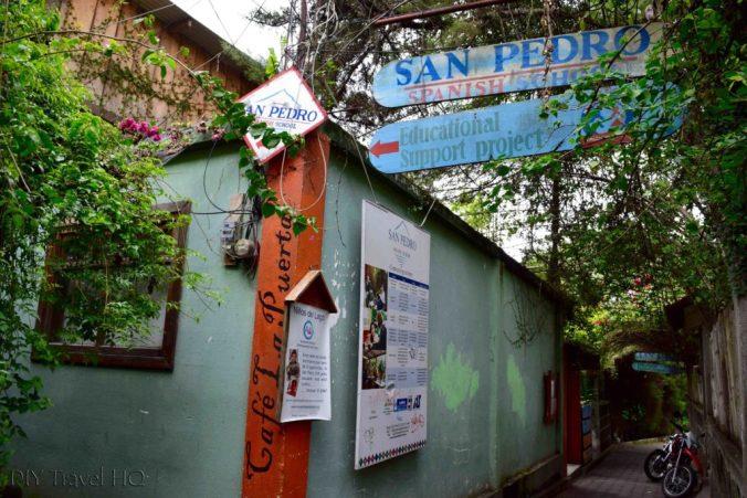 San Pedro Spanish School entrance