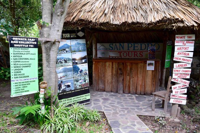 San Pedro Spanish School tour office