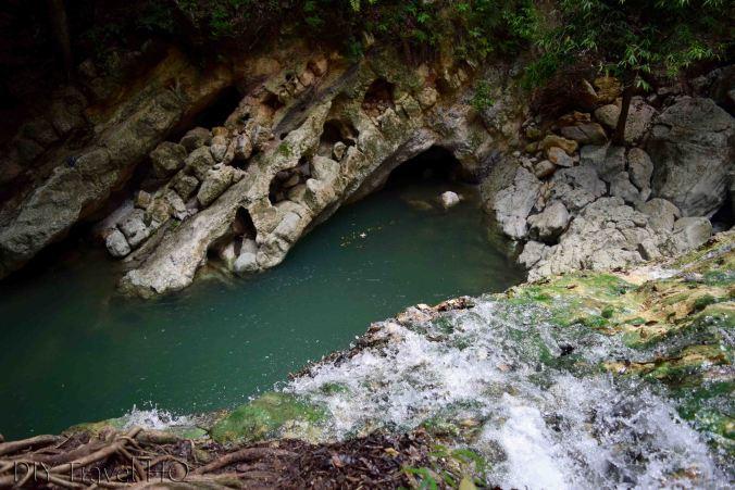 Top of Finca el Paraiso Waterfall
