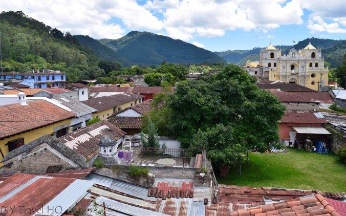 La Merced views Casa Cristina