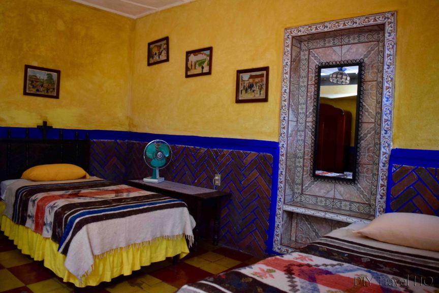 Posada Belen Museo Inn Room with Tiles