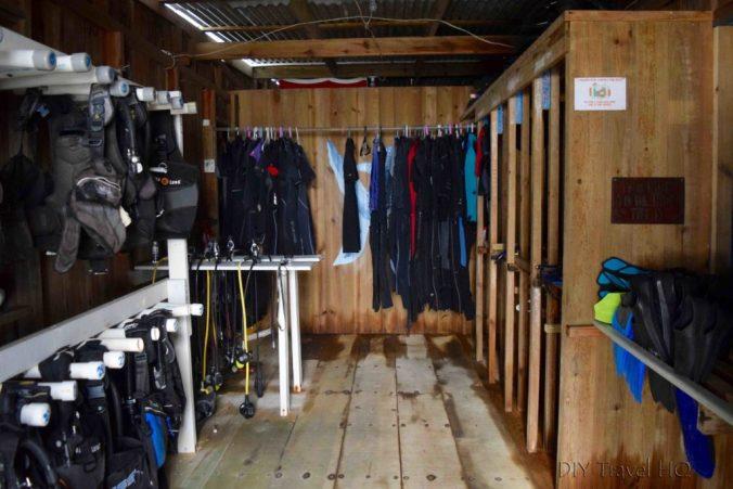 Great equipment at Gunter's Ecomarine