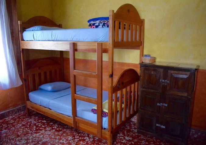 Iguana Azul Dorm Room