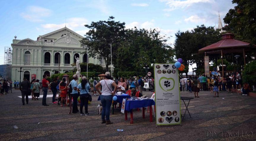 Santa Ana Parque Libertad & Teatro de Santa Ana