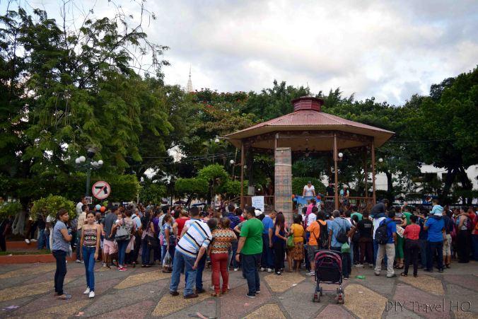 Santa Ana Parque Libertad