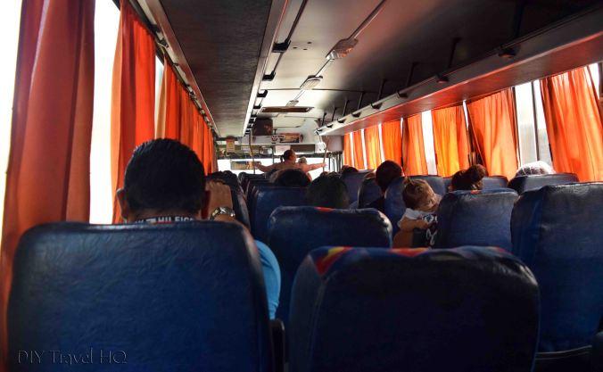 Santa Ana to San Salvador Especial Bus
