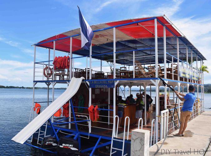 La Bella del Mar boat
