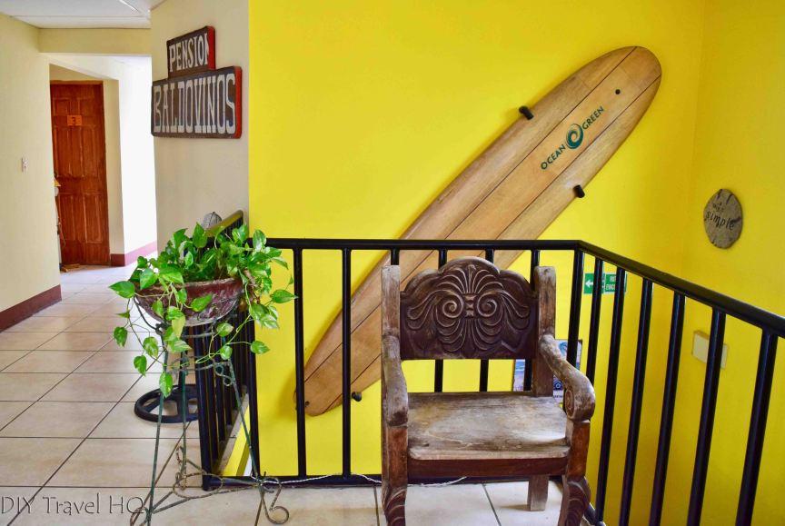Casa Ariki Upstairs Hallway