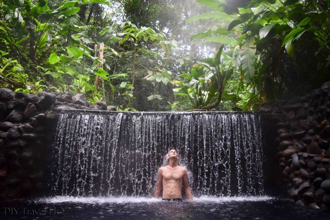 EcoTermales Hot Springs Waterfall