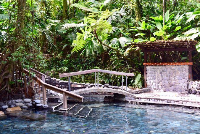 EcoTermales Intimate Hot Spring Pools Behind Bridge