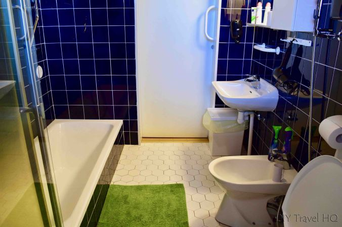 Bathroom Guesthouse Stranda
