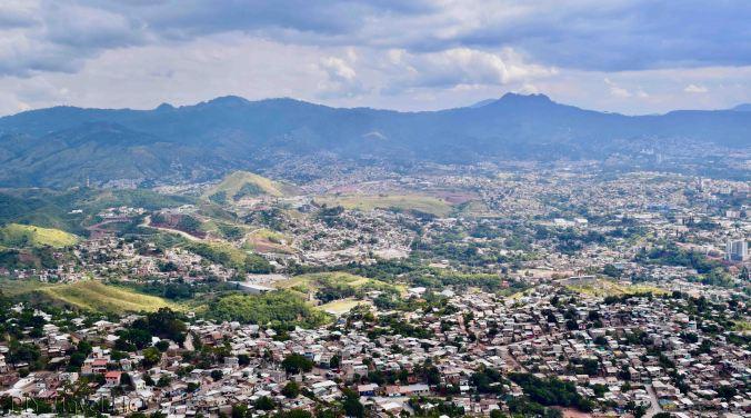 El Picacho view