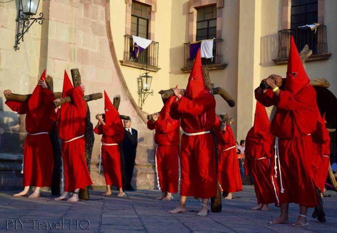 Queretaro Easter parade