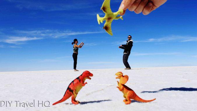 Dinosaur photos Uyuni