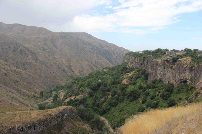 Views around Temple of Garni