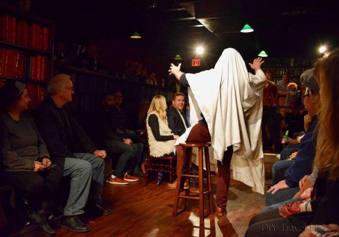 Drunk Shakespeare ghost