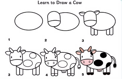 Learn to draw Farm Animals – Simple DIYs