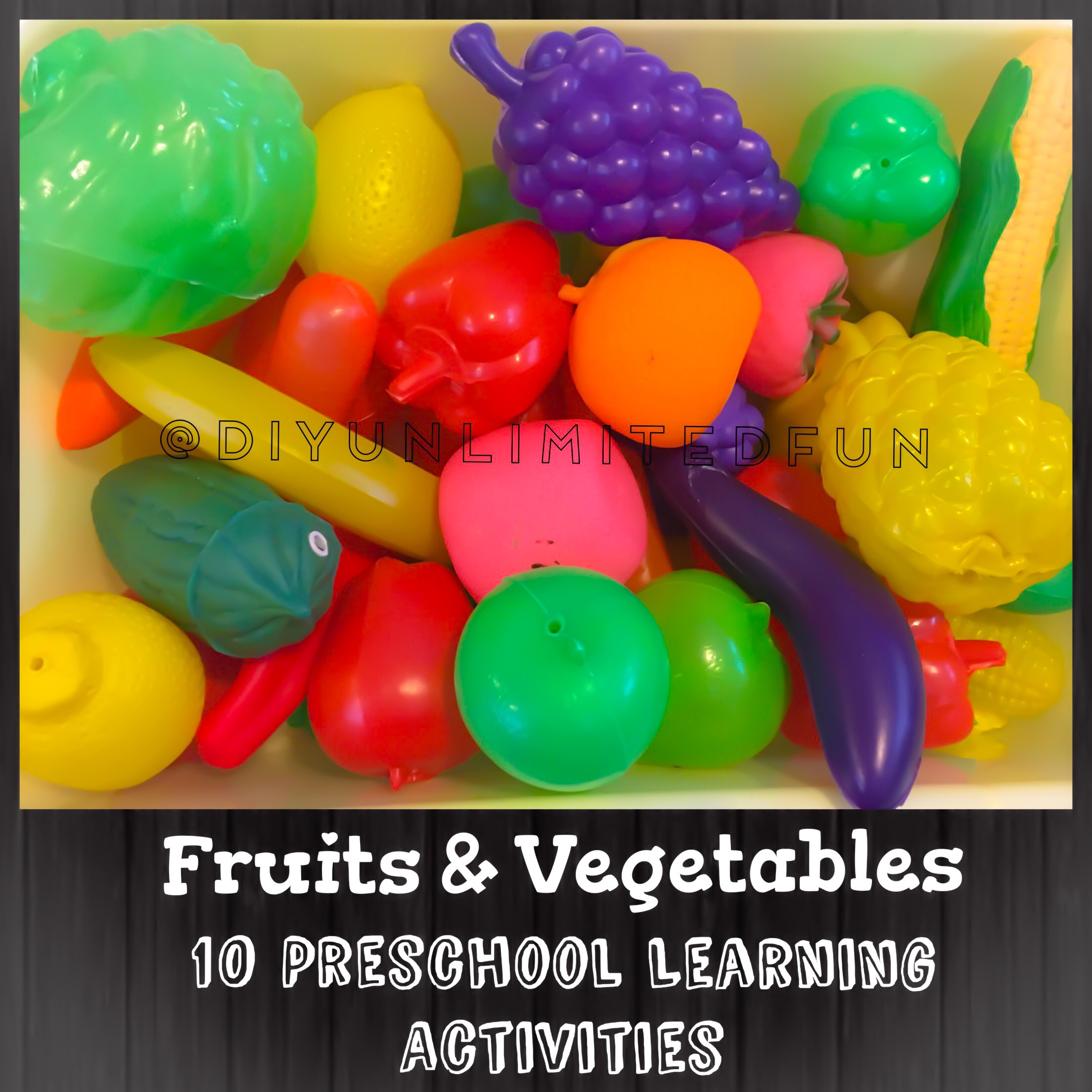 Fruits Amp Vegetables 10 Preschool Learning Activities