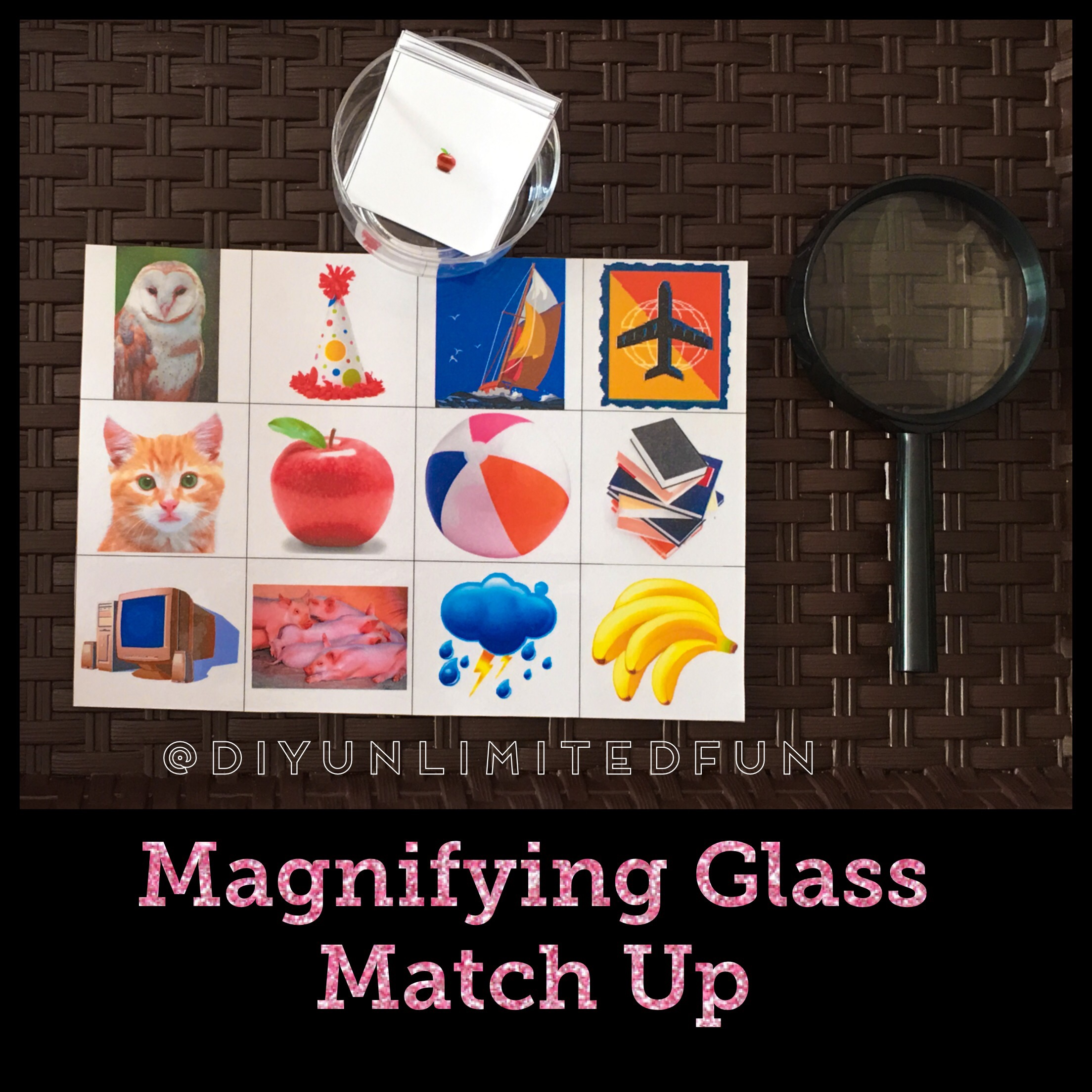 Magnifying Glass Activity Simple Diys Kids Activities