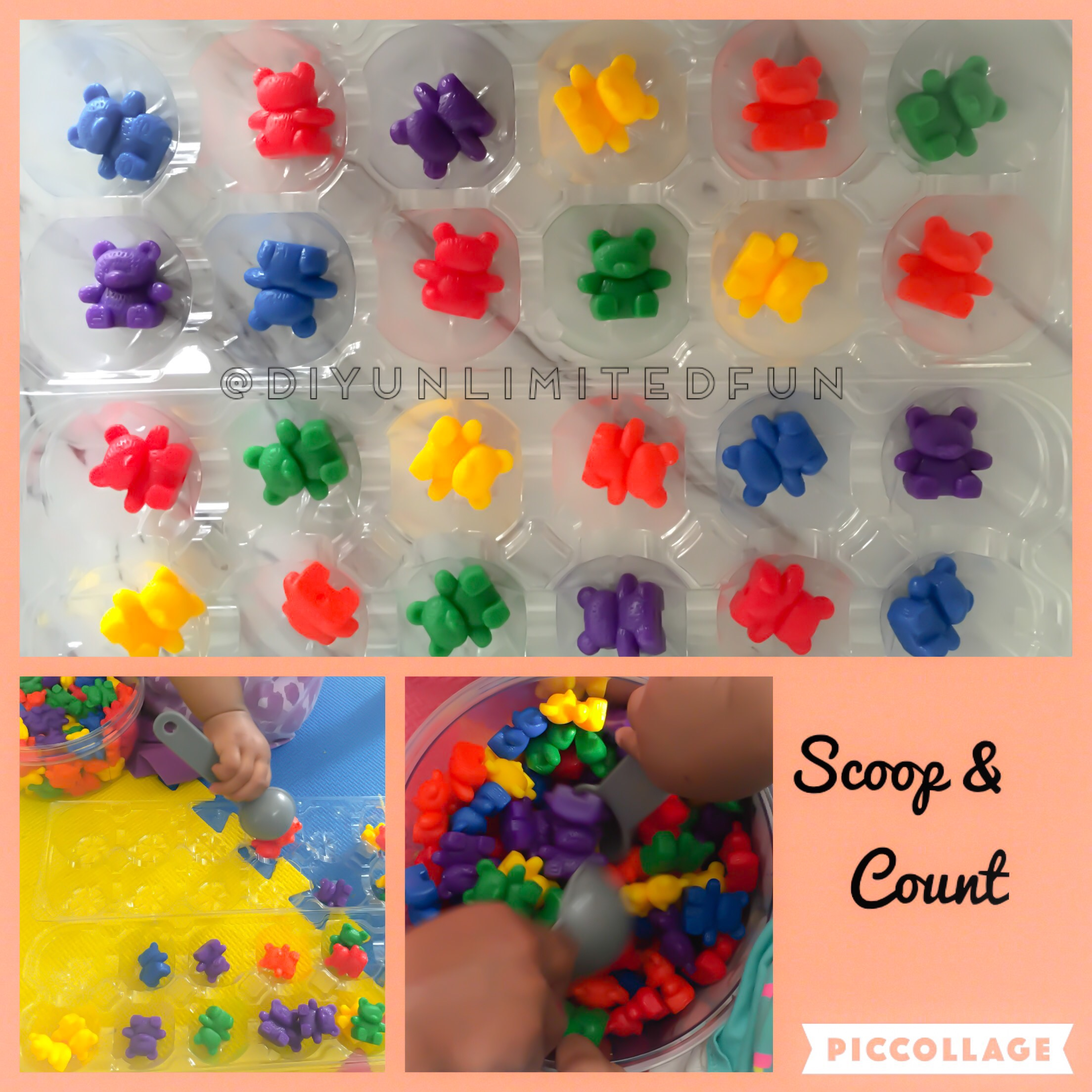 10 Math Activities Using Bear Counters Ages 2 6 Simple