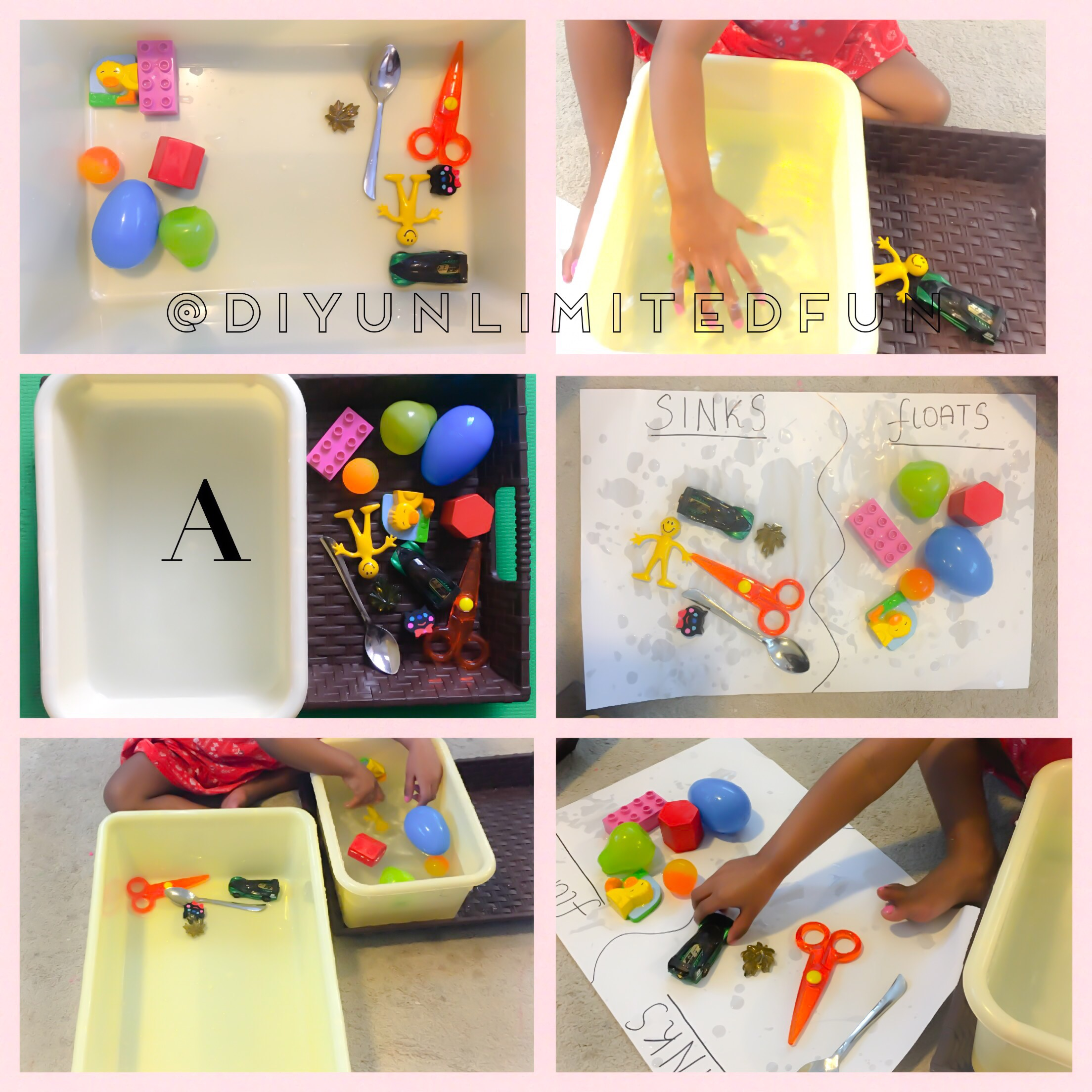 Sink Or Float Preschool Science Simple Diys Kids Activities