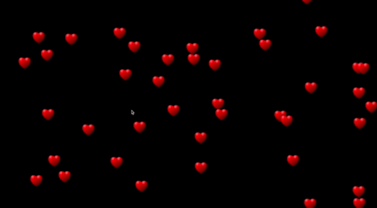 Floating Heart ♥️ using processing