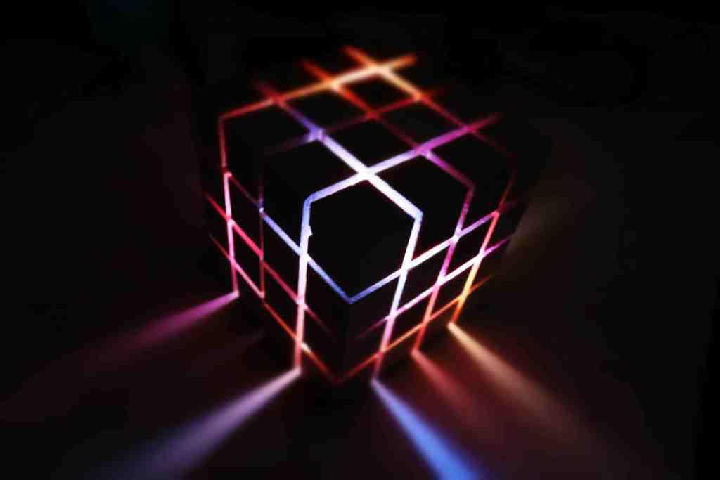arduino sound reactive cube