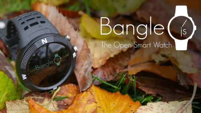 Bangle.js – open source JS and TensorFlow-driven smartwatch!