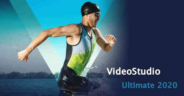 Spalsh screen logo for Corel VideoStudio 2020