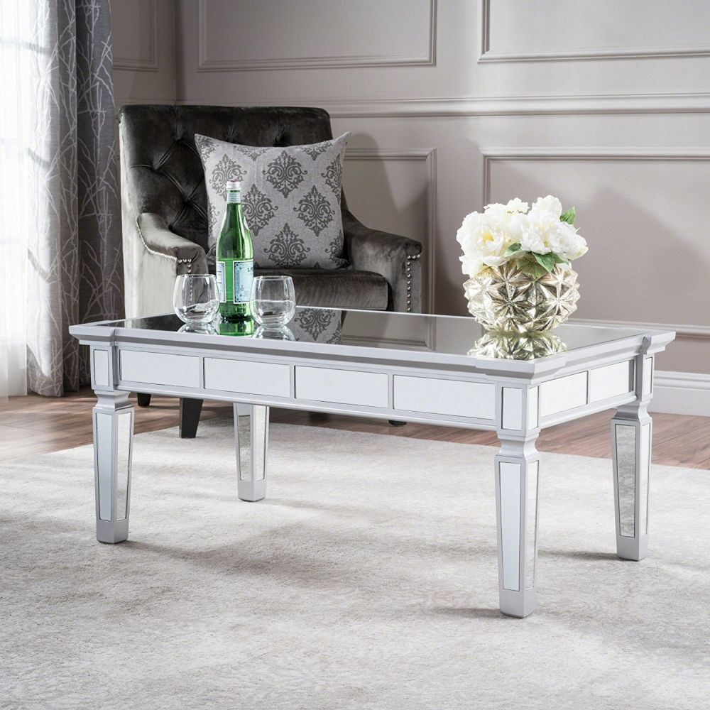 Mirrored Coffee Table - The Glamorous Accent Every Living Room Needs ...