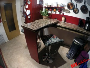 Drehbare Theke Küche