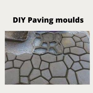 DIY Paving moulds
