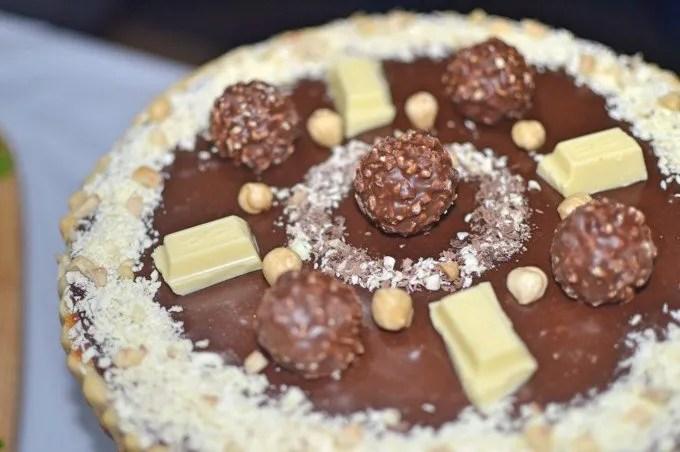 A Random Feast Series: Chocolate Caramel Tart