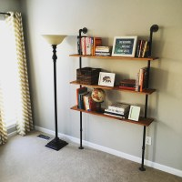 How to build an Industrial Pipe Shelving Unit - DIYwithRick
