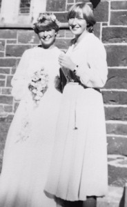 Wedding day aged 23