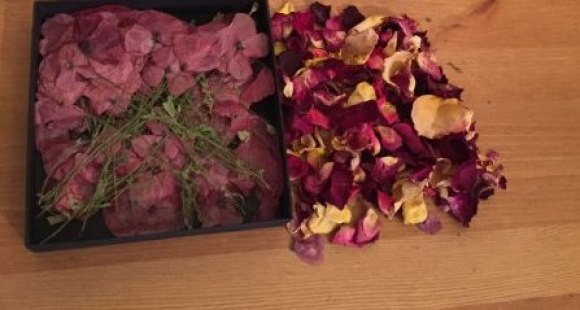 Dried flowers | See more on www.diywoman.net