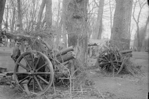 Artillery on the WWI battlefields | More on www.diywoman.net