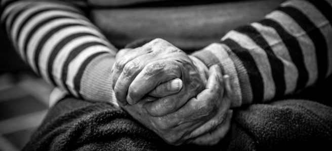consequential strangers, hands, aged care | See more at www.diywoman.net