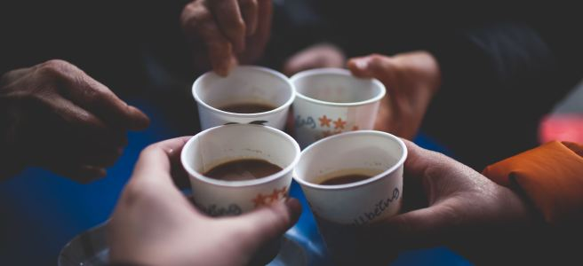 coffee, friends, friendship | See more at www.diywoman.net